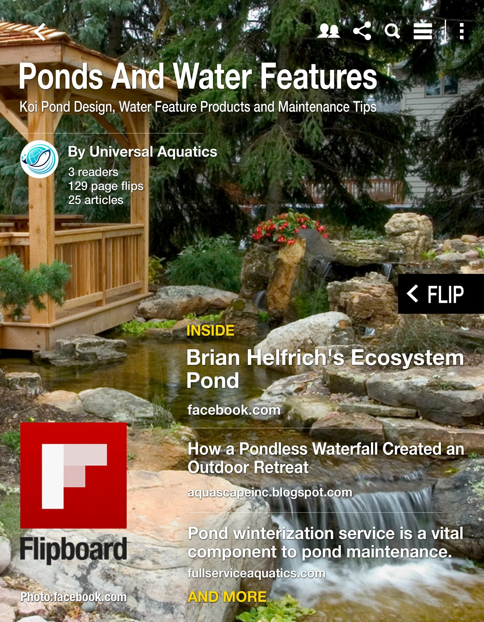 Pond & Water Feature Flip Book