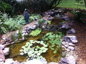 These Fountains, Artificial Streams, Or Backyard Waterfalls Are Referred To  As U201cwater Features,u201d The Most Important Part Of Any Water Garden.