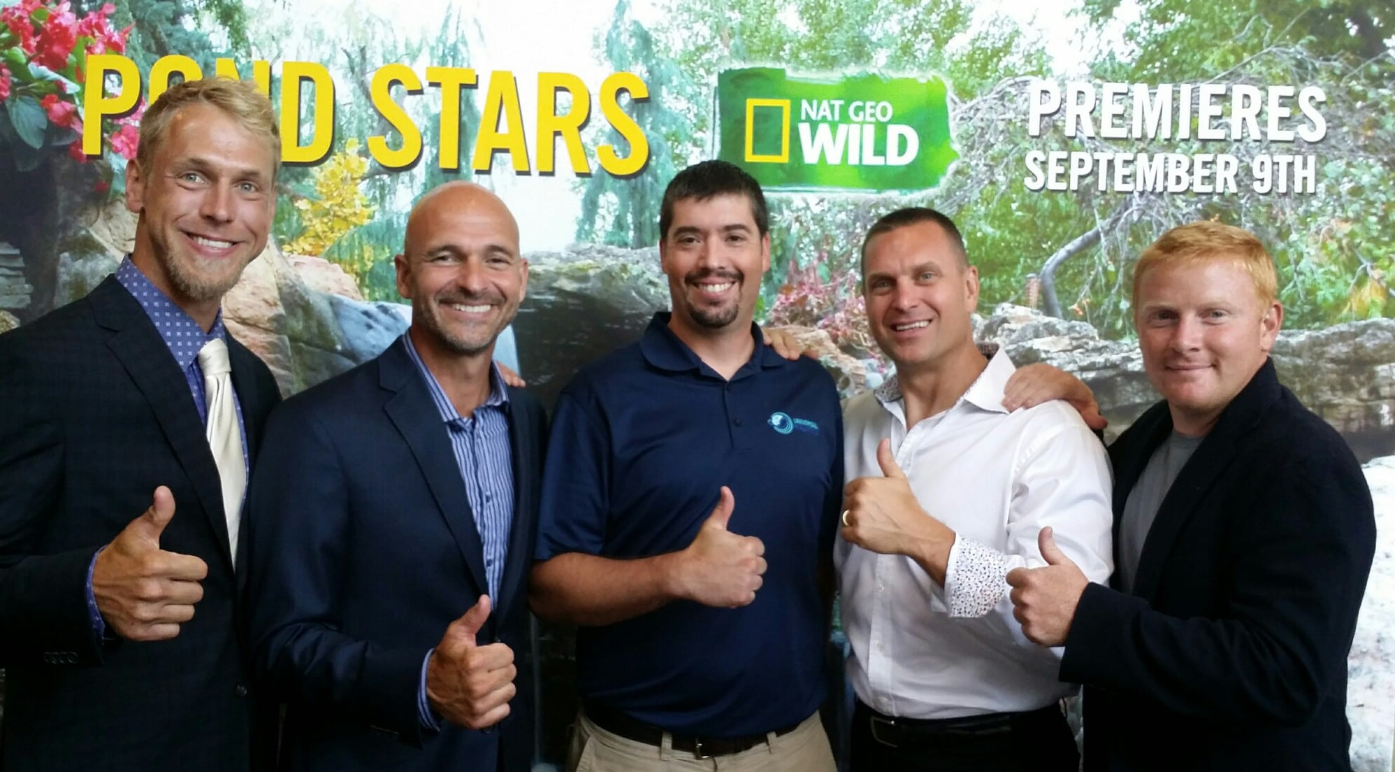 Pond Stars on Nat Geo Wild