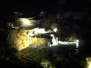 Pond Lights In Waterfall In Chicago At Aquascape Pondemonium 300 224 Universal Aquatics