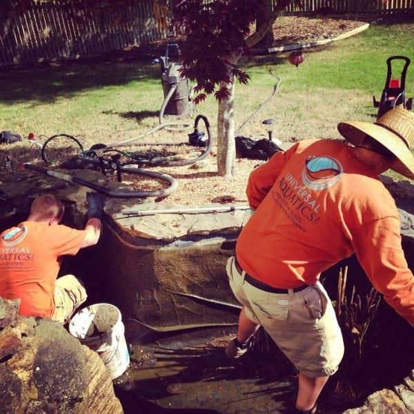 Pond Installation in Gwinnett County